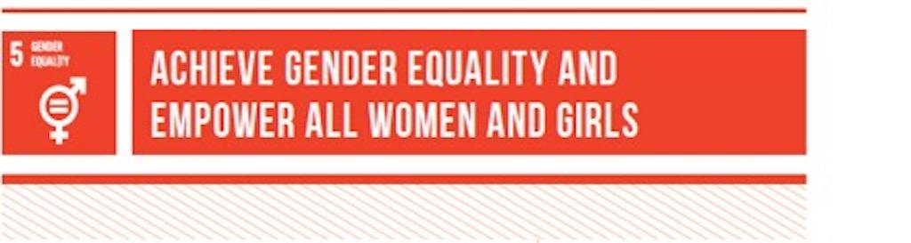United Nations Sustainable Development Goal 5 - Gender Equality